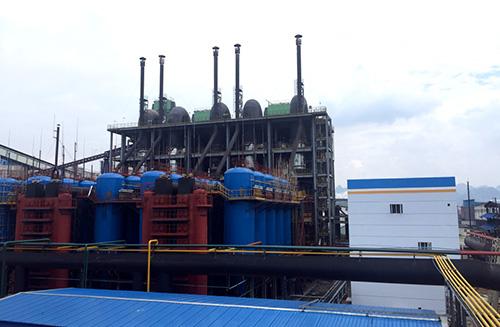 """40000Nm3/h常压循环流化床煤气化制清洁工业燃气技术""通过科技成果鉴定"