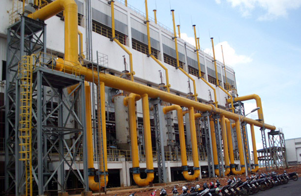 越南林同氧化铝行业两段式煤气发生炉煤气站
