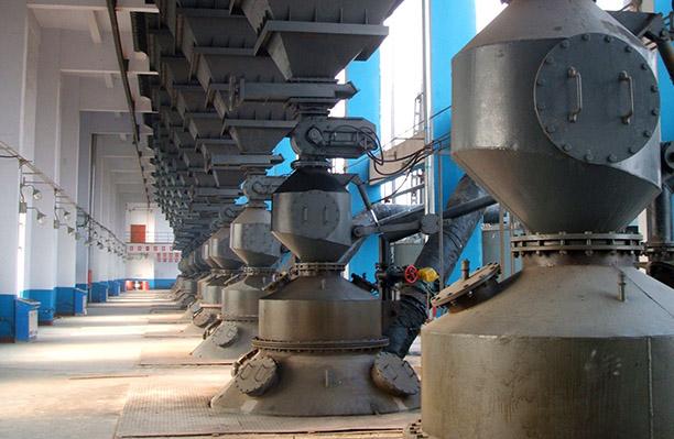 两段式煤气发生炉煤气站加煤系统