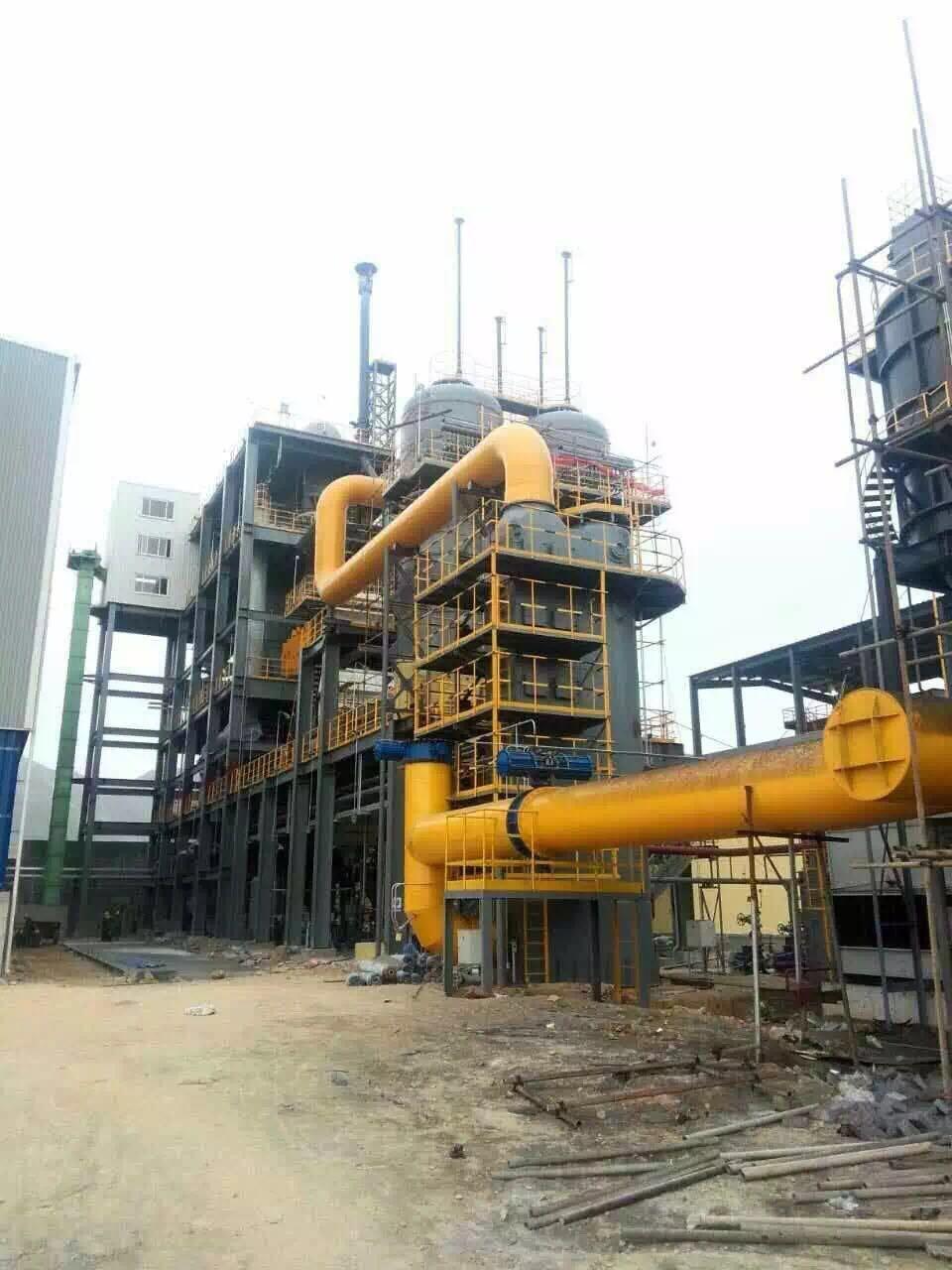 山东招金氯化焙烧项目CXL2000循环流化床气化炉项目投产