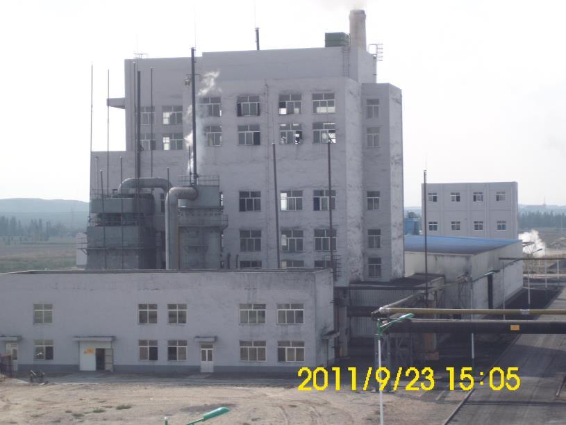 循环流化床粉煤气化炉为宁夏华盈金属镁业提供燃气
