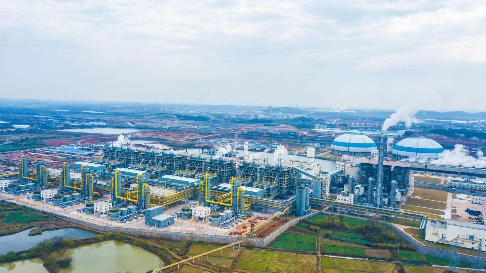 全球第一大煤制清洁工业燃气项目