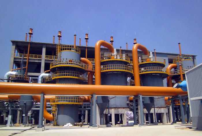 改进型单段煤气发生炉