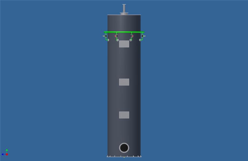 洗涤塔|配件产品|黄台煤气炉-煤制气系统工程建设