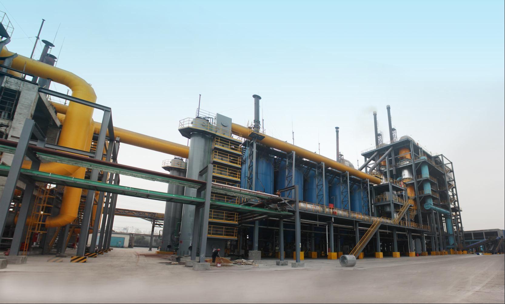 3台套*40000Nm3/h大型循环流化床粉煤气化系统